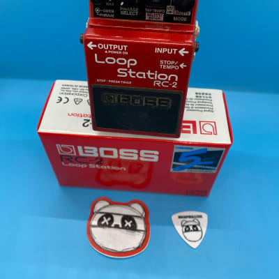 Boss RC-2 Loop Station w/Original Box | Fast Shipping!