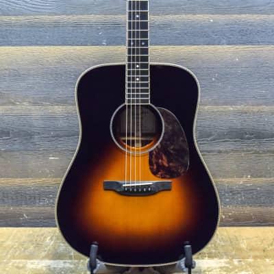 Boucher SG-22-BC Studio Goose Dreadnought Sunburst Acoustic Electric Guitar w/Case