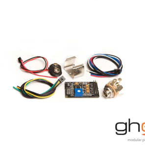 Graph Tech PE-0240-00 Ghost Acousti-Phonic Preamp Kit for Guitar - Basic
