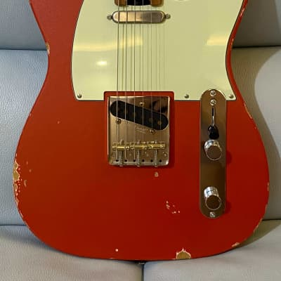 Shijie Guitar TLV Relic Vintage Red  Standard 2021 (Sold) for sale