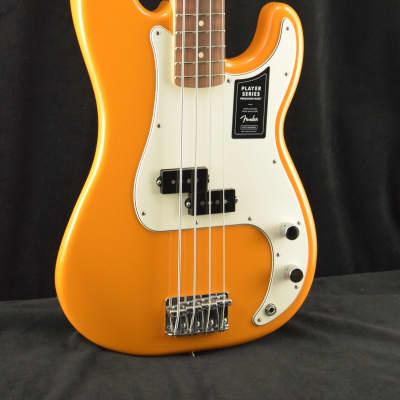 Fender Player Precision Bass PF Capri Orange
