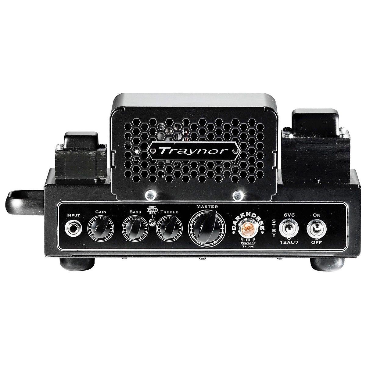 traynor dh15h darkhorse 15 watt all tube guitar amp head reverb. Black Bedroom Furniture Sets. Home Design Ideas