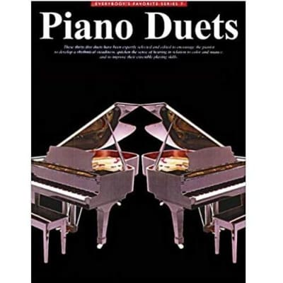 Piano Duets - Everybody's Favorite Series No. 7