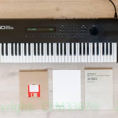 Roland S-50 Digital Sampling Keyboard