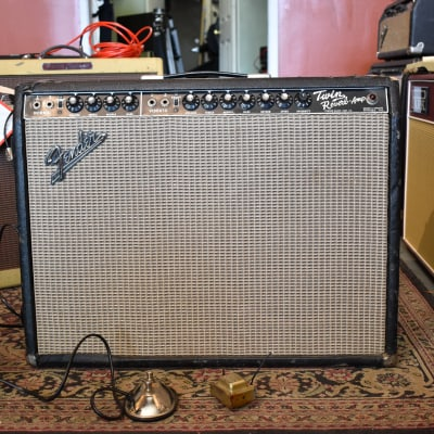 1967 Fender Twin Reverb Guitar Amp Owned By Jimmy Vivino
