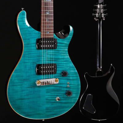 PRS Paul Reed Smith SE Paul's Guitar w/ Bag, Aqua 915 7lbs 4.4oz for sale