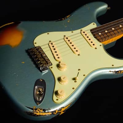 Fender Custom Shop Stratocaster NAMM 1960 '60 Heavy Relic Flame Neck 7.28 lbs for sale