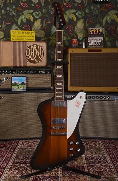 Gibson Firebird Sunburst | Mike's Gear Garage
