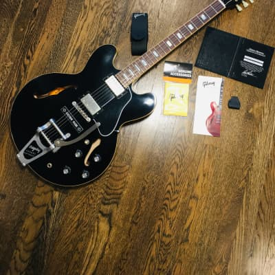 Gibson ES 335  Memphis  2017 Ebony for sale
