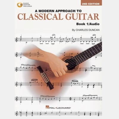 A Modern Approach to Classical Guitar - Book 1 (2nd Edition) (w/ Audio Access)