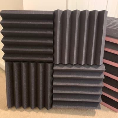 2' x 2' Acoustic Foam Studio Panels (Pack of 8)