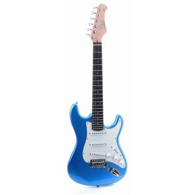 Eko S100 3/4 Metallic Blue chitarra elettrica blu per bambini for sale
