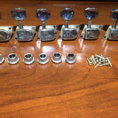 """Late 1970's Fender Vintage """"F"""" stamped tuners! (Made in W. Germany)"""