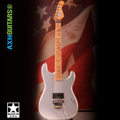 AXN™ Silver Sparkle Guitar : AVAILABLE : for sale