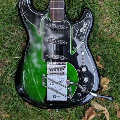Burns Hank Marvin model 1990s Greenburst for sale