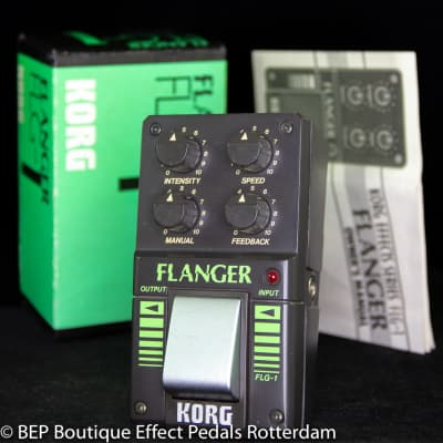 Korg FLG-1 Flanger s/n 003482 early 80's Japan