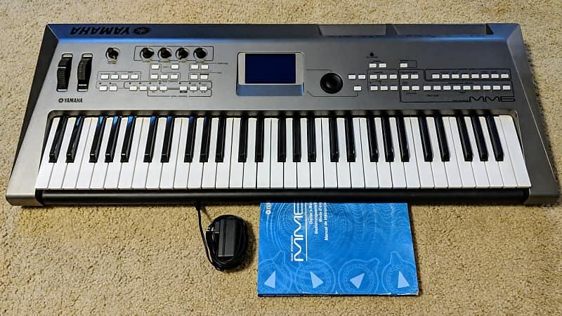 yamaha yamaha mm6 music synthesizer workstation 2010 silver reverb. Black Bedroom Furniture Sets. Home Design Ideas
