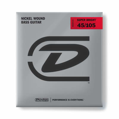 Dunlop Super Bright Bass Guitar Strings | 45-105