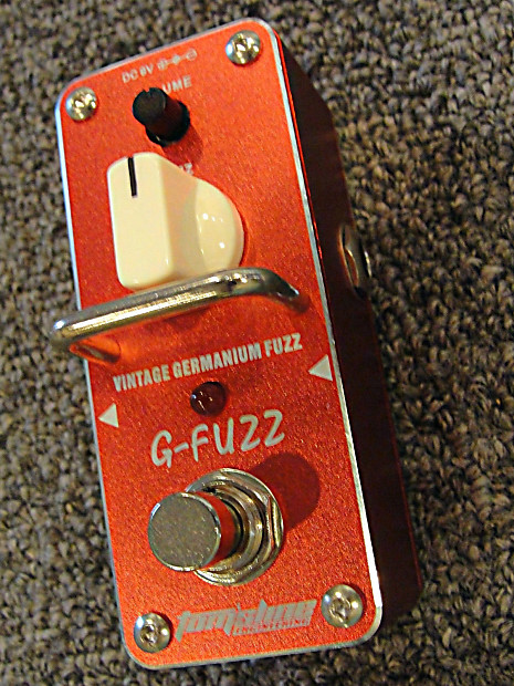 Tom/'s Line Engineering AGF-3 G-Fuzz Vintage Germanium Fuzz Guitar Effects Pedal