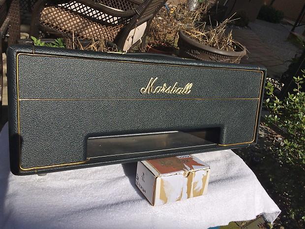 1967 Marshall Plexi Empty Head Cabinet 1967 Vintage Green