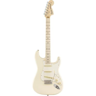 Fender 2019 Channel Exclusive American Performer Stratocaster Olympic White for sale