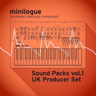 "Korg minilogue/Sound Packs vol.1 ""UK Producer Set"""