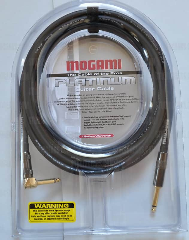 Mogami Platinum Guitar R Cable 12 Ft Lv Guitars Reverb