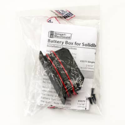 Stewart-MacDonald Single 9V Battery Box for Solid Body Guitars for sale