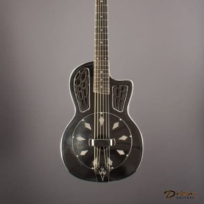 2006 Ron Phillips Parlor Resonator, German Silver for sale