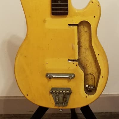 Kingston ? 6 string MIJ 1960's Yellow for sale