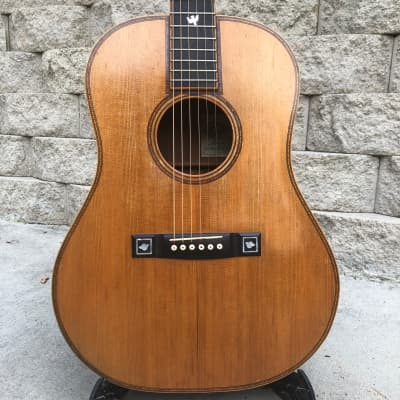 David s daily dreadnought acoustic  guitar 1970s for sale