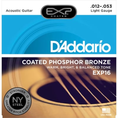 D'Addario Phosphor Bronze Acoustic Light Gauge