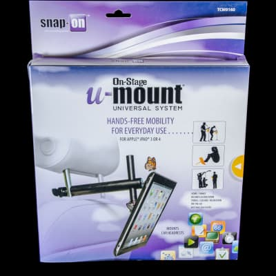 On-Stage TCM9160 iPad Snap-On Cover w/ Mounting Bar