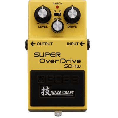 Boss SD-1w Super Overdrive Waza Craft for sale