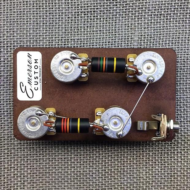 Wiring Kit Gibson Les Paul Long Shaft Manual Guide
