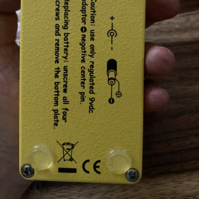Xotic AC Booster 2010s Yellow