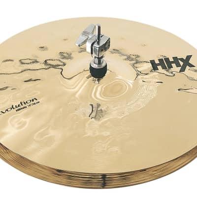 "Sabian 14"" HHX Evolution Hi-Hats Brilliant Finish"