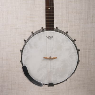 1950's Kay 5-String Open Back Banjo in Remarkable Condition, New REMO Skin, Strings, with Hard Case for sale