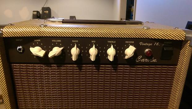 Carvin V16 Vintage 16 W Celestion G12 V30 Speaker