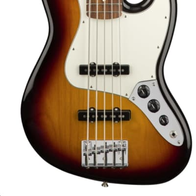 Fender Player Jazz Bass V Pau Ferro Fingerboard 3-Color Sunburst for sale