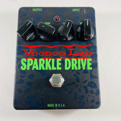 Voodoo Lab Sparkle Drive Overdrive Pedal *Sustainably Shipped*