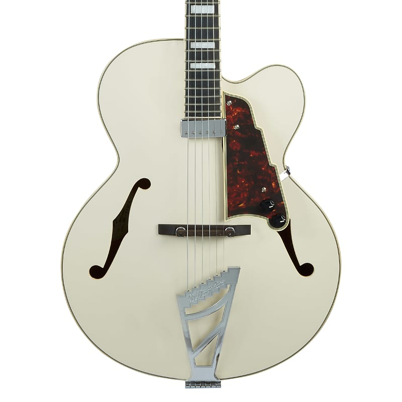 D'Angelico Premier EXL-1 Hollowbody Archtop Champagne w/ Gig Bag