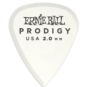 Ernie Ball 9202 2.0mm Prodigy Standard Guitar Picks (Bag of 6)