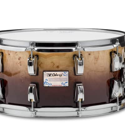 Odery  Snare Drum 13 x 6 - Mappa Burl, Brown Fade