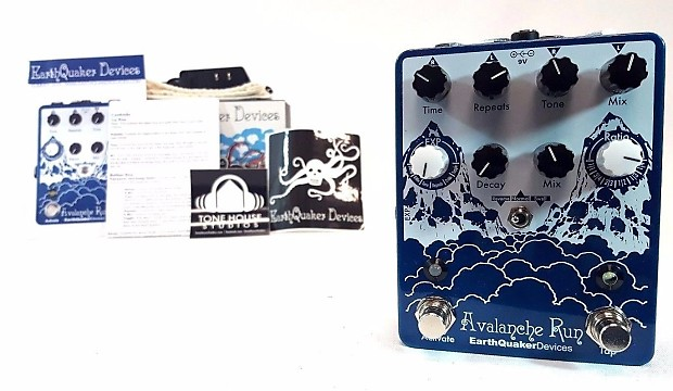 earthquaker devices avalanche run stereo delay reverb reverb. Black Bedroom Furniture Sets. Home Design Ideas