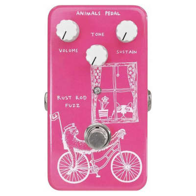 Animals RUST ROD FUZZ Fuzz Pedal Designed by Skreddy Pedals
