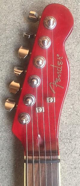 fender telecaster mahogany custom set neck electric guitar reverb. Black Bedroom Furniture Sets. Home Design Ideas