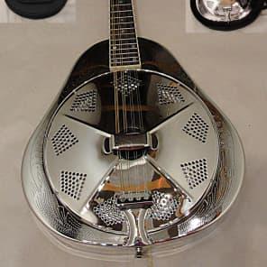 Recording King RA-998-E Metal Body Resonator Mandolin