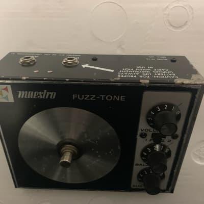 Maestro FZ-1S Fuzz 1971 Black for sale