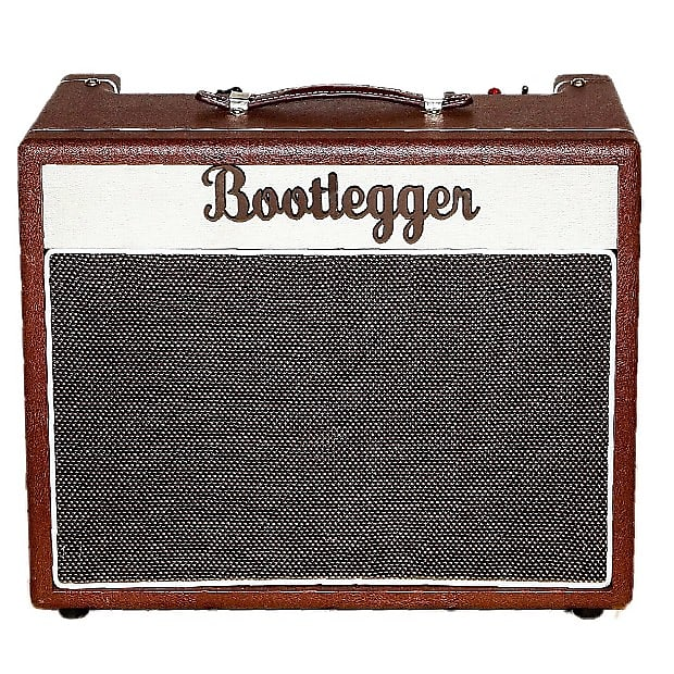 Bootlegger  Blues 15 EA84  Tube  Amp Spring Reverb & Tremolo Black + Cable